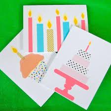 best 25 easy diy birthday cards ideas on pinterest easy