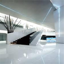 white gloss nano glass floor tile large size 1200 1200mm