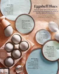 eggshell blues paint palette interiors by color
