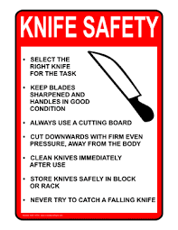 how to use kitchen knives kitchen knife safety how to use knives safely dummies 88400 image0