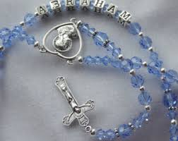 personalized rosary my rosary etsy