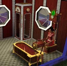 sims 3 bathroom ideas steampunk
