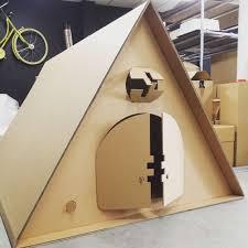 Deco Chambre High Amazing Cardboard Kartent Des Tentes En Conçues Spécialement Pour Les