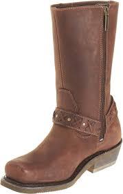 short motorbike boots harley davidson women u0027s brown leather auburn harness stud
