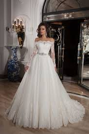 ballgown wedding dresses sleeve the shoulder court tulle gown wedding