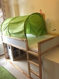 IKEA Kura Top Bunk Bed Reversible Xcm Perfect As A Kids - Ikea bunk bed kura