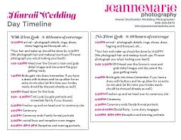 wedding ceremony timeline hawaii wedding photography timeline advice