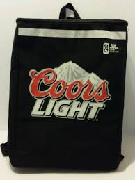 Coors Light 24 Pack Coors Light Backpack Cooler Bag Canada Promotional Item 24 Cans