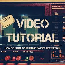 tutorial drum download download video tutorial how to make your drums fatter 1st edition