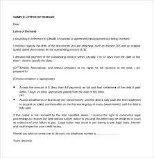 legal demand letter sample letter idea 2018