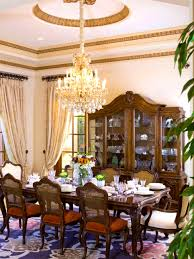 Dining Room Etiquette Furniture Pleasant Elegant Victorian Style Dining Room Designs
