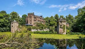 live like a royal sprawling 70 room caverswall castle is listed