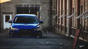 cars mitsubishi lancer cars mitsubishi lancer evolution x stance tuned tuning walldevil