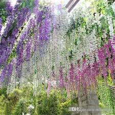 wedding flowers ni artificial flowers simulation wisteria vine wedding
