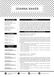 Catchy Resume Templates 31 Creative Resume Templates For Word You U0027ll Love Them Kukook
