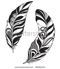 tribal feather stock images royalty free images vectors