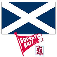 College Flag Scotland St Andrews Cross 3ft X 5ft Superknit Polyester Flag