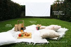 Backyard Outdoor Theater Pretty Fluffy