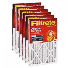 Filtrete Healthy Living Ultra Allergen Reduction Ac Furnace Air Filtrete 1000 Micro Allergen Defense Filter 14x30x1 6 Pack