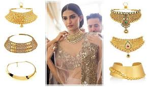 chokers necklace gold images 25 indian gold choker necklace designs styles at life jpg