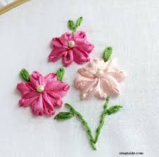 satin ribbon flowers 10 ribbon embroidery flowers with silk satin ribbons tutorials
