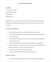 mba application resume format mba application resume sle resume template mba application