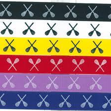 ribbon by the yard lacrosse printed ribbon by the yard longstreth