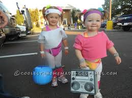 80s Workout Halloween Costume 80 U0027s Workout Girls Couple Costume Toddlers