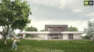 Low Cost House by Low Cost House With A Large Covered Terrace Horní Soběšovice