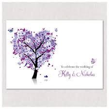 Tree Wedding Invitations Love Tree Wedding Invitations