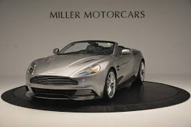 chrome aston martin 2016 aston martin vanquish volante stock a1187 for sale near