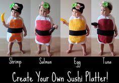 Halloween Sushi Costume Edible Cute Sushi Baby Sushiiiii