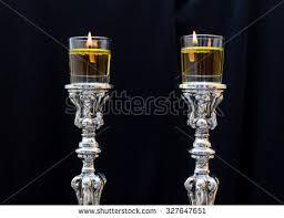 shabbat l sabbath candles stock images royalty free images vectors