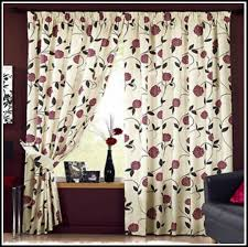 Chocolate Brown And Red Curtains Chocolate Brown And Beige Curtains Curtains Home Design Ideas