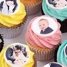 personalised cupcakes photo cupcakes personalised cupcakes message cupcakes