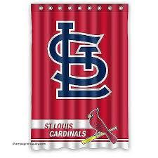 Curtains St Louis Curtains St Louis Cardinals Shower Curtain Beautiful Cardinals