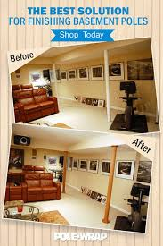 basement poles can get in the way of your design dreams not with