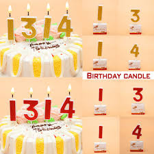 number birthday candles birthday candles gold number 0 9 cake cupcake topper party