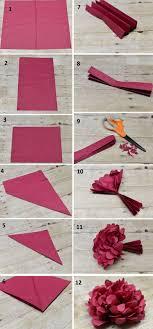 cara membuat bunga dengan kertas hias 5 cara mudah membuat bunga dari kertas tisu do it yourself club