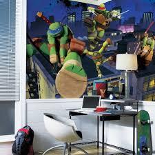 teenage mutant ninja turtles xl wallpaper mural roommates