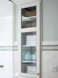 Glass Bathroom Storage Store More In Your Bath Small Bathroom Wall Stud And Floor Space