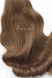 Skin Weft Seamless Hair Extensions by Sunkissed Brown Luxurious Seamless 24