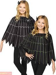 Baby Spider Halloween Costume Child Spider Poncho Cape Girls Boys Halloween Fancy Dress