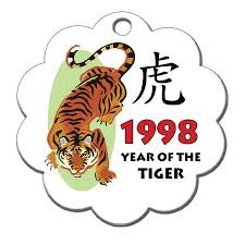zodiac year of the tiger ornament 1998 mandys moon