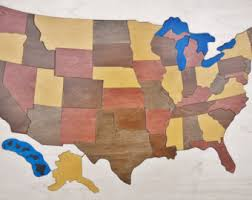 usa map puzzle for toddlers chunky wooden map puzzle of africa an educational and