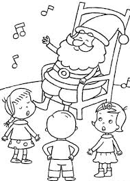 santa coloring pages printable santa claus coloring pages