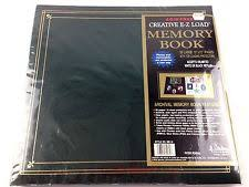 pioneer ez load memory book green photo albums boxes ebay