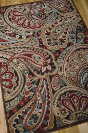 spectacular design paisley area rugs marvelous graphic illusions