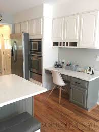 simply white and chelsea gray kitchen evolution of style