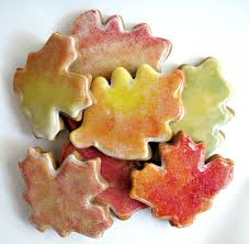 gingerbread fall leaves the monday box